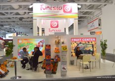 """the Tunisian Pavilion organized by the Agence de Promotion des Investissements Agricoles ""APIA"" Tunisia"""