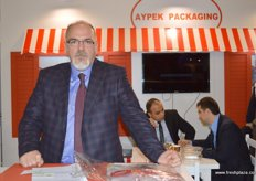 Fuar Koparipek, General Manager of Aypek Packaging-Turkey, provides packaging solutions to national and international fresh fruit traders based on the criteria and demand of target markets