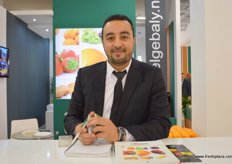 Ahmed Saied, Sales Supervisor of El Gebaly (Egypt), the company is ranked as the first Egyptian citrus exporters according to the last report of the Egyptian Ministry of Trade & Industry body and the General Organization for Export/Import Control (GOEIC).