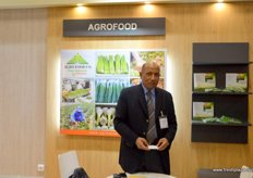 Agrofood´s Chairman and CEO, Nabil Abu-Bakr Khoshet. Agrofood is an Egyptian company that sort, pack and export organic fresh products Top of Page