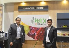 Sherif Doss, General Manager of Wadi Orchards(Egypt) with Shady Fayed of Fayed Ex-Egypt