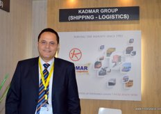 Eng. Medhat Hatim el kady, Vice Chairman of Kadmar Group, one of the largest shipping and logistics groups in Egypt employing over 273 staff members in more than 17 offices in Egypt and Syria