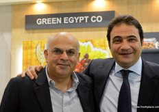 Sudhir Mehta, Commercial Director of MWW- UK with Sherif Attia, President of Green Egypt Co.