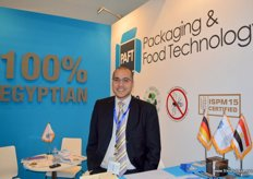 Ahmed El Shall, Deputy Operations Manager of Packaging and Food Technology (Egypt)