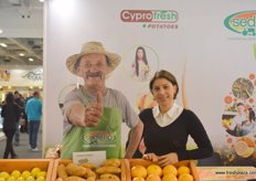 Christiana of Cyprofresh Sedigep (Cyprus), first Cypriot organisation to meet the criteria laid down by the National Competent Authority on producers' organisations