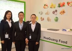 Sophie, Susan and Ashley of HuaGuang Food Imp. & Exp- China