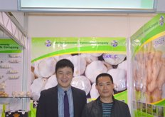 Pleter Liu (Sales Manager) and Roger Luo (General Manager) of Greenway Foodstuffs Company- China