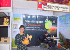 Tanya, Foreign Trade Salesperson of Zhangzhou Zhuangyi (China) proud to show their organic pomelo