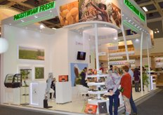 Palestinian Fresh stand at the Fruit Logistica