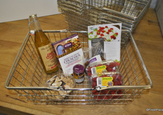 Driscoll's shopping cart shows that you can use berries in various recipes and not even only in a dessert as a topping, but even in a main course with Couscous.