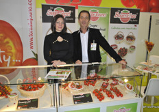 Christel Chauvinier and Christian Jouno from Tomate Jouna