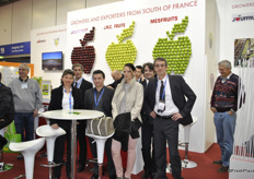 The team of Jouffruit, J.M.C. Fruits and MesFruits