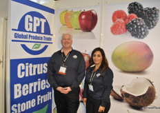Todd Jones and Artemisa McLeod from Global Produce Trade