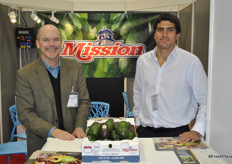 James C. Donovan and Roberto Vargas from Mission Produce promoting their European Division