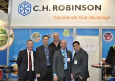 The team of C.H. Robinson