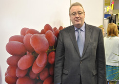 Andrew Brown represents the California Table Grape Commission