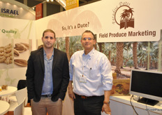 Tal and Avi Dagul promoting medjool dates and deglet nour from Field Produce marketing