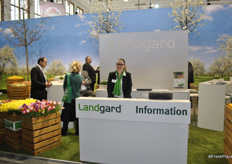 Anne Baumert for Landgard, Germany. Landgard is a marketing organisation in the plant and produce sector.
