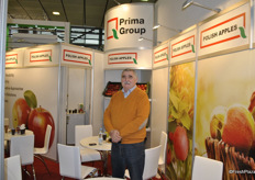 Vyacheslav Arsenyev from Prima Group, Poland. Apple producer and exporter.