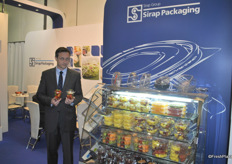 Piotr Delezko from Sirap Pachaging, Poland. Packaging company for all kinds of food