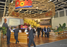 Overview of the Dole stand at Fruit Logistica 2014