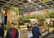 Overview of Del Monte stand at the Fruit Logistica 2014