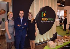 Stand of Agrofresh Export Consortium. They mention the good garlic campaign this year.