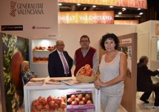 Susi Bonet, of the sales team of Cambayas, Europe's largest pomegranate-producing cooperative.
