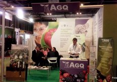Stand of AGQ, with their new projects for a safer and higher quality agriculture.