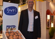 Jurgen Duthoo of Bart's Potato Company is especially strong in potatoes and potato products.