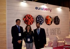 Stand of Euroberry, specialist in berries and leaders in blueberries.