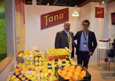 Stand of Tana, Murcian company devoted to the production and marketing of lemons, grapefruit and oranges.