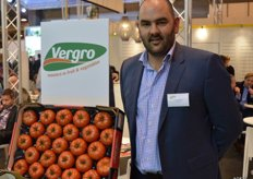 Jeroen Vlayen of Vergro ssays Vergro is strong in tomatoes, apples, strawberries, carrots and pears. Sales on the Spanish market are to retail and wholesalers.