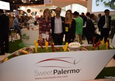 Stand of Rijk Zwaan, showcasing its range of Sweet Palermo peppers.