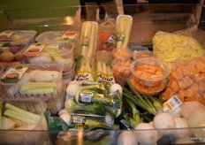 New fresh and fresh cut vegetable products.