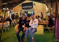 Stand of Huercasa, launching a new image.