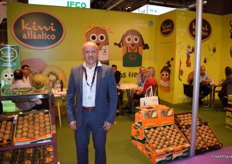 José Carlos Valls, general manager of Kiwi Atlántico, Spain's largest kiwifruit producer.