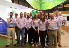 Stand of Seipasa, a specialist in biostimulants and biopesticides.