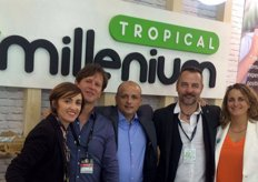 Sales team of Tropical Millenium, a producer, importer and exporter of mangoes, avocados and papayas.