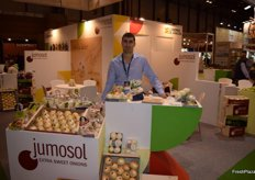 Jumosol, company of Fuentes de Ebro devoted the production on sweet onions.