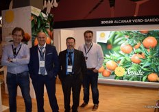 Stand of Alcanar Verd, Cítrics y Vivers, promoting its protected clementine Sando.