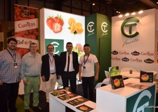 Team of the Galician company TC Fruits, large producer and marketer of strawberries, citrus and kiwifruit.