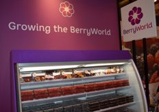 Berry World showed a wide range of soft fruit and a line of processed fruit.