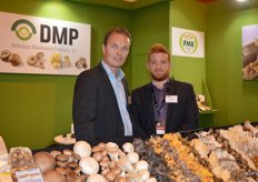 Gerard Meerman of FME and Javier Aquilera López of the Spanish DMP office from Lleida.