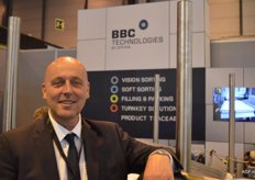 Fred Douven of BBC Technologies is both salesman and user of the BBC optical sorting machines. With his blueberry company ABB Trading he will soon start using a BBC dual-line. Fred does sales for BBC in Europe and the Middle East.