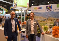 Bert van der Meer and Cor Berkhout of Eosta had conversations with Spanish cultivators about the import from Spain. Spain is growing in the production of organic trade. Regarding consumption of organic produce, Spain is falling behind other European countries and can be compared to consumption in the UK. Seen as a total, demand for organic products is growing quicker than supply. Especially organic citrus is scarce. Bert and Cor were surprised by the diversity of visitors at their booth.