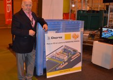 Carlos Serra sells machines of Deprez Construct, among other things, in Spain.