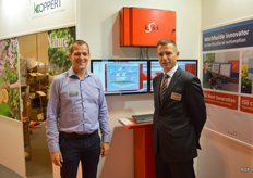 Pieter Mol of Svensson and Bert Jan Nolden of Hoogendoorn Growth Management are enthusiastic about their collaboration.
