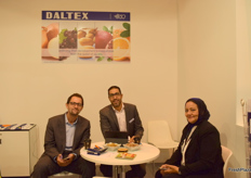 Mahmoud Ahmed Riad, Ahmed Tawfik from Daltex and Marvat Khalifa from EECA (Egypt Expo and Convention Authority).