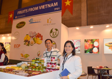 Kevin Nguyen and Alice Bichha Nguyen from Tropical Fruit.
